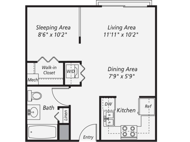 Image result for 600 sq ft living space floor plan 2 bed 1 bath   House  plans   Pinterest   Bedroom floor plans. Image result for 600 sq ft living space floor plan 2 bed 1 bath