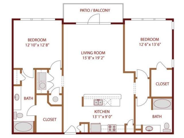Amli quadrangle dallas tx 75204 hotpads for 130 n garland floor plan