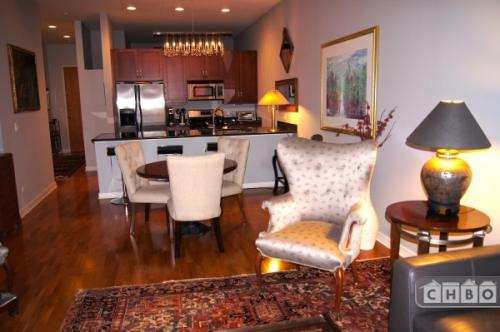 Chicago Furnished Condo with large deck Apt 206 Photo 1