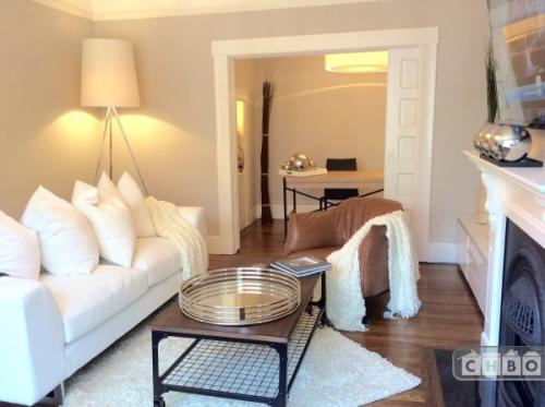 Furnished 2 bed 1 bath flat Cole Valley Photo 1