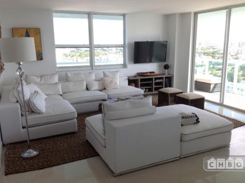 Miami Beach Custom Furnished Water Views 1712 Photo 1