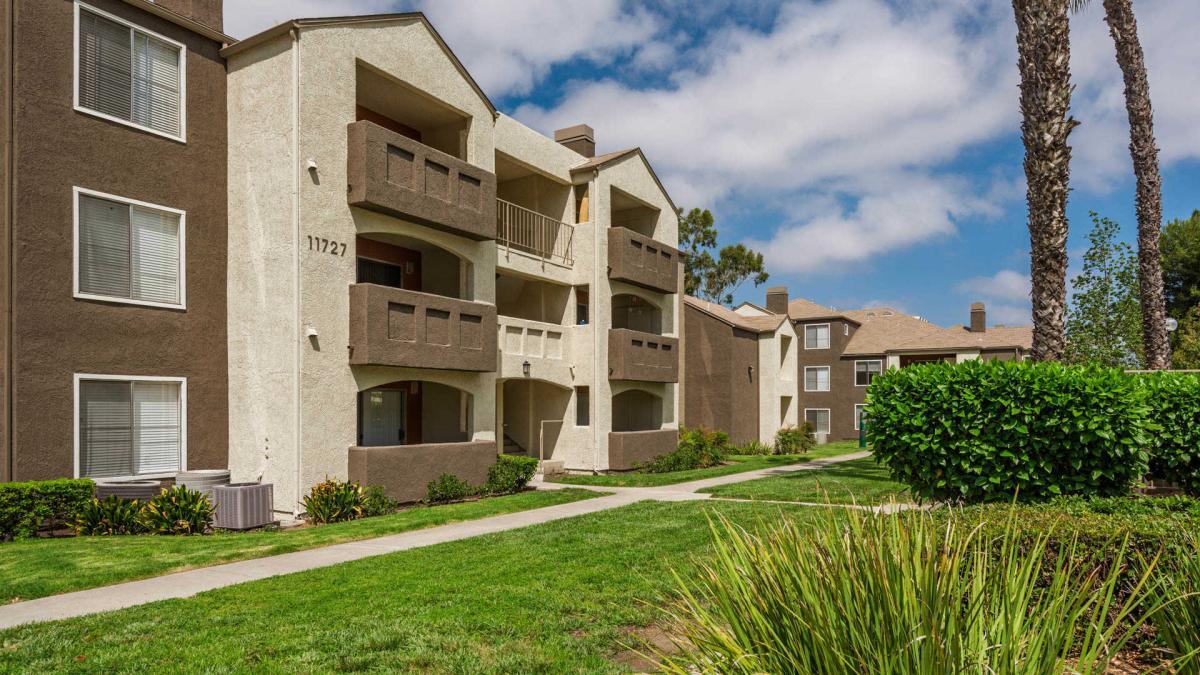 Carmel Terrace Apartments Building