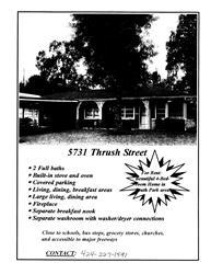 5731 Thrush Drive Photo 1