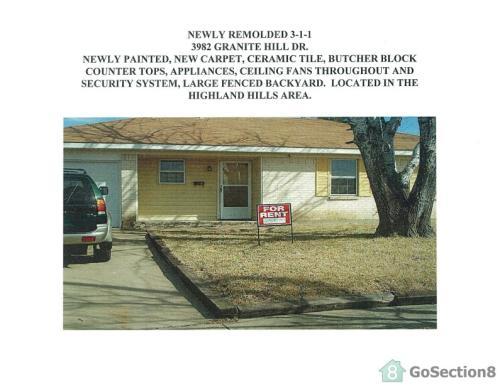 3982 Granite Hill Drive Photo 1