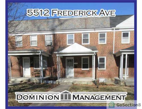 5512 Frederick Avenue Photo 1