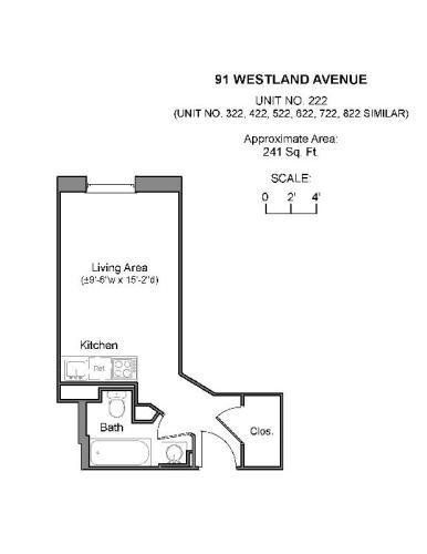 91 Westland Avenue 822 Photo 1