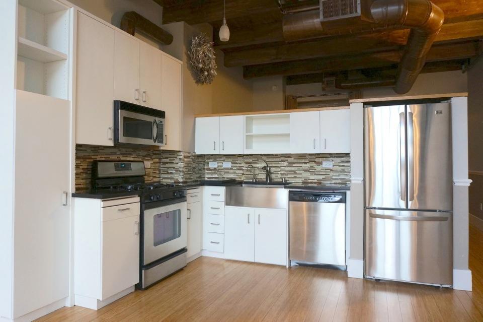 Modern Kitchen 334 Santana Row Loft