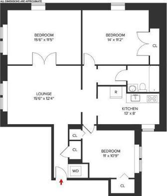 Modern 3 bedroom with In-Unit Laundry Bay Ridge Photo 1