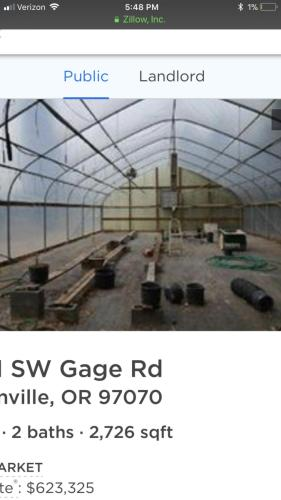 25131 SW Gage Road #GREENHOUSE  25 BY 50 Photo 1
