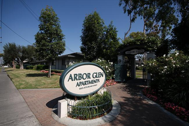 Arbor Glen Apartments at 12622 Buaro Street Garden Grove CA