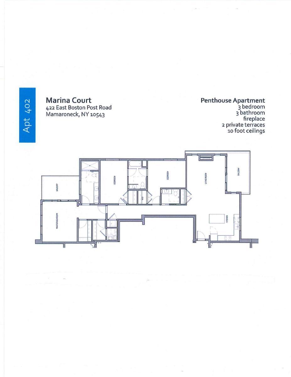 apartment unit 402 at 422 e boston post road mamaroneck ny 10543