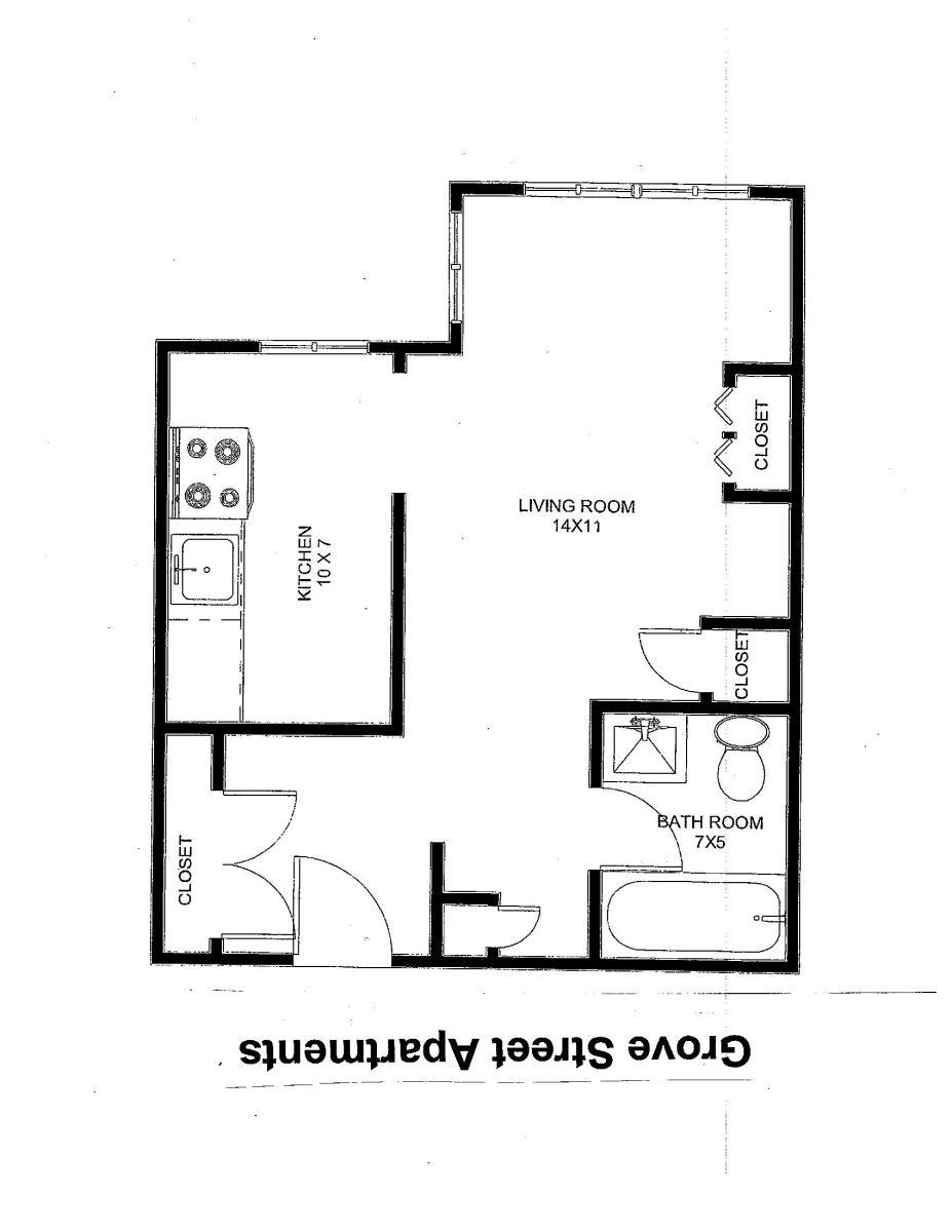 Studio Apartment Nj apartment unit studio at 13 grove street, north plainfield, nj