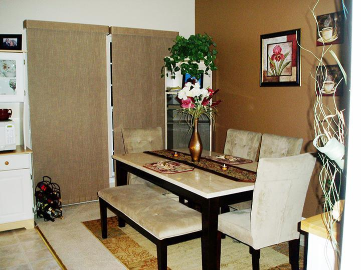 Dining Room, Marble Table W/bench And 4 Chairs For Sale Also   Waltman