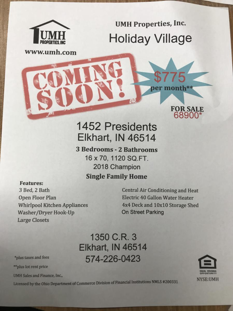 & 1452 Presidents Drive Elkhart IN 46514 | HotPads