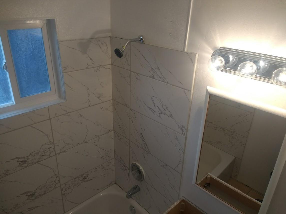 Complete Bathroom Remodel W New Tub Porcelain Tile Surroun 1370 Chris Lane