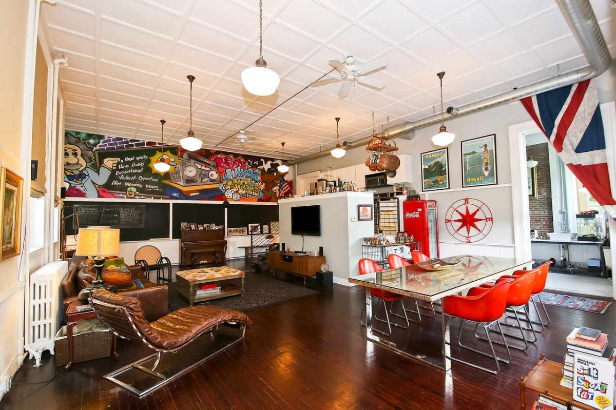 True Nyc Stle Loft Living In Dc Maryland Avenue Ne