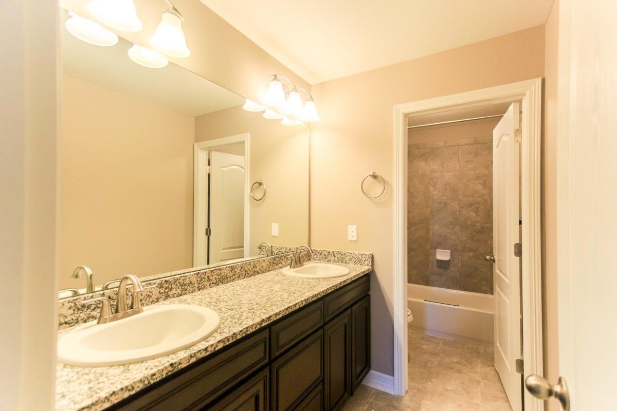 1946 yellow and grey tile bathroom - 1 Of 13