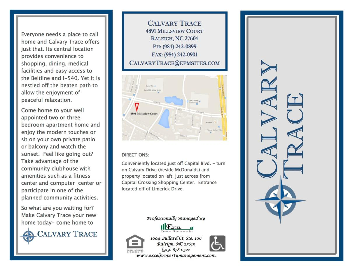 Calvary Trace Apartments Raleigh Nc