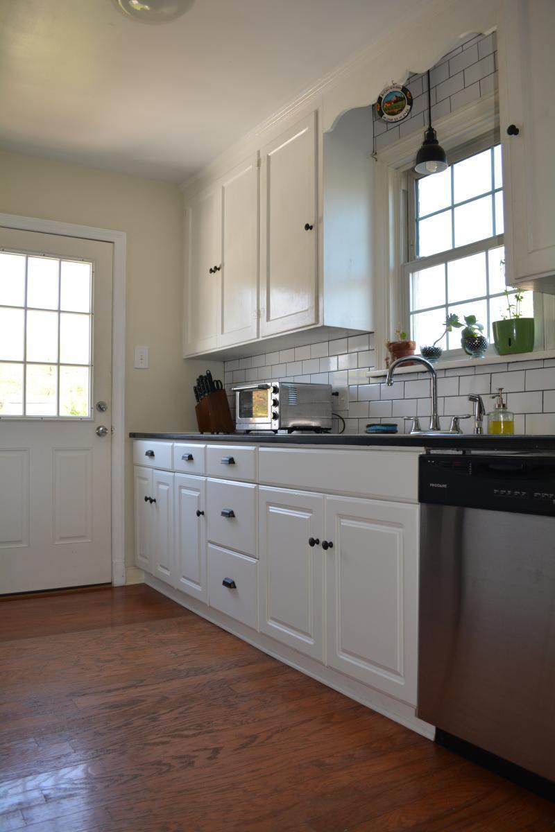 Updated kitchen 6319 monument avenue