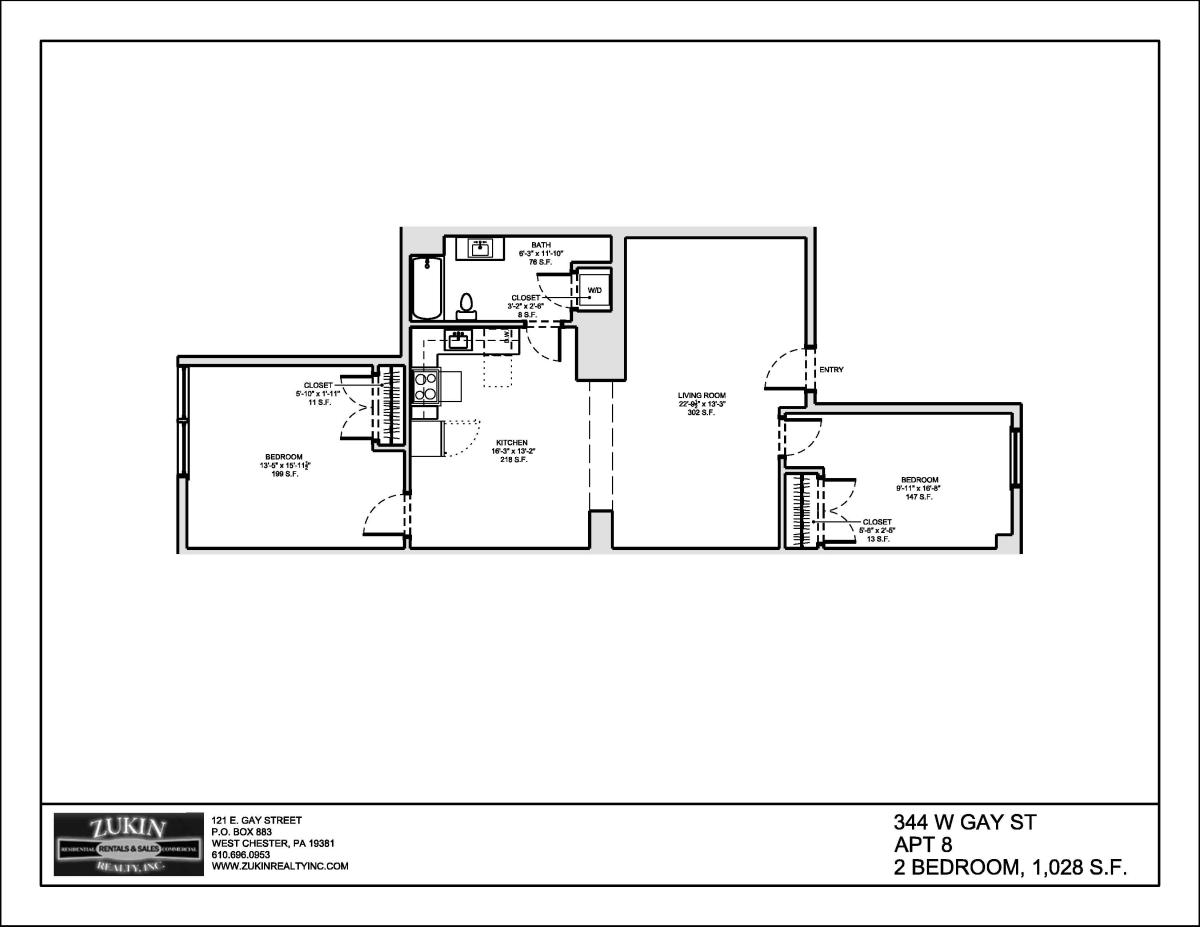 344 W Gay Street Apt 8 West Chester PA 19380 – Rustin Walk Site Plan