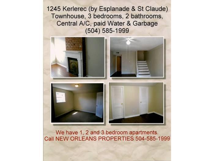 Fabulous Esplanade Avenue New Orleans La 70119 Hotpads Download Free Architecture Designs Rallybritishbridgeorg