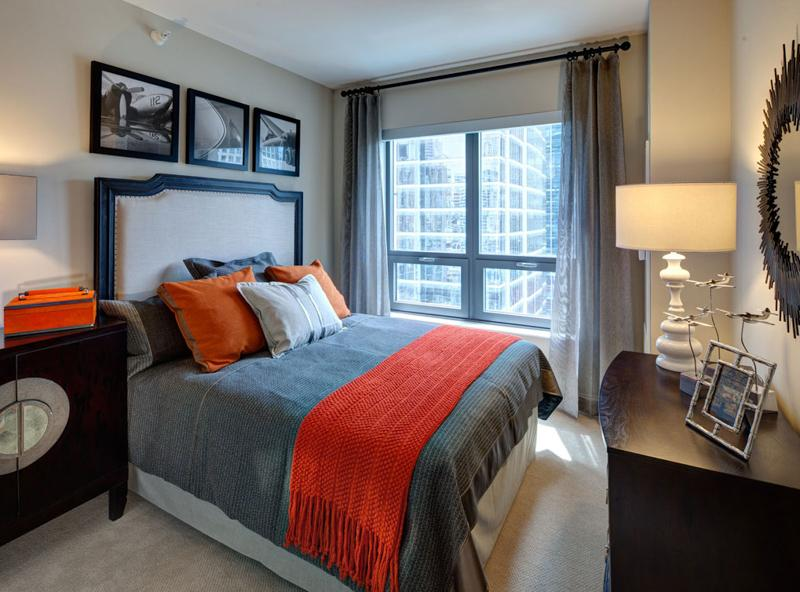 amli river north at  w hubbard street, chicago, il   hotpads, Bedroom designs