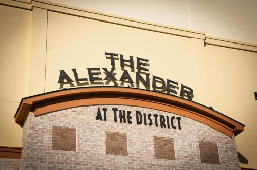 Alexander at the District Photo 1