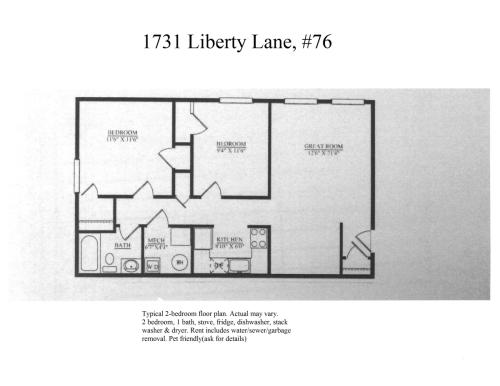 1731 Liberty Lane Photo 1