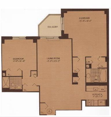 2 bed, $4,995 17A Photo 1