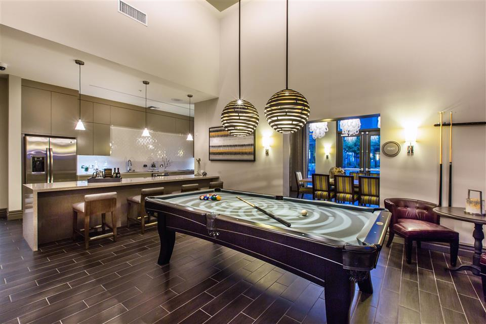Challenge Your Friends To A Of Billiards Venue Apartments
