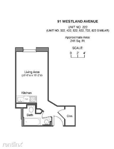 91 Westland Avenue #822 Photo 1