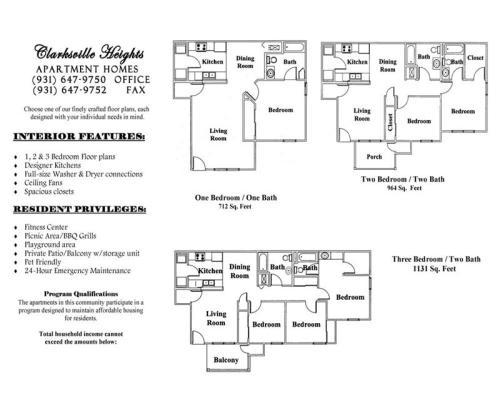 Kraft Street At Kraft Street Clarksville TN HotPads - Clarksville heights apartments