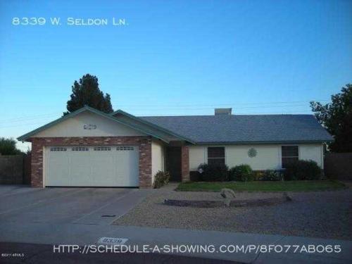 8339 W Seldon Lane Photo 1