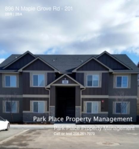 800 N Maple Grove Road #201 Photo 1