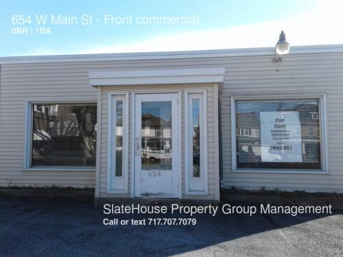 654 W Main Street #FRONT COMMERCIAL Photo 1
