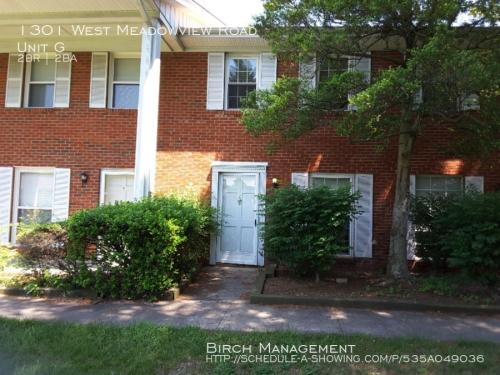 1301 W Meadowview Road #G Photo 1