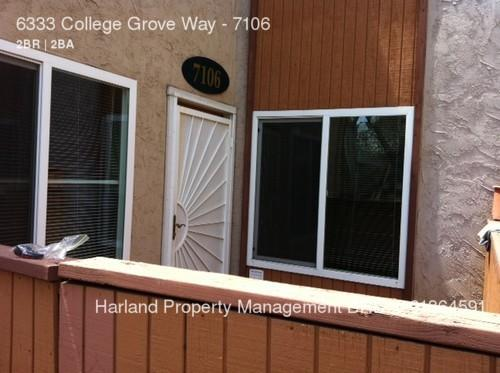 6333 College Grove Way Unit 7106 Photo 1