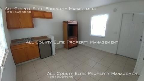 Studio apartment for rent in west palm beach