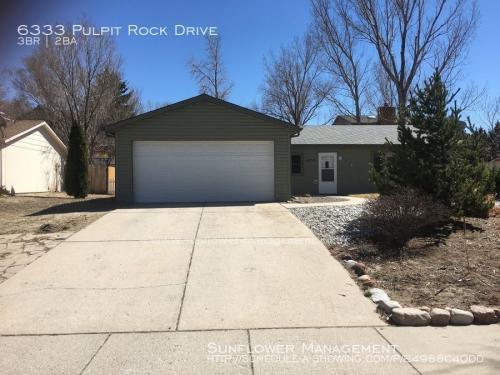 6333 Pulpit Rock Drive Photo 1
