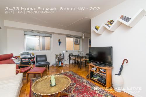 3433 Mount Pleasant Street NW #202 Photo 1