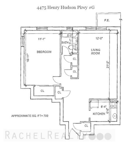 4475 Henry Hudson Parkway #1G Photo 1