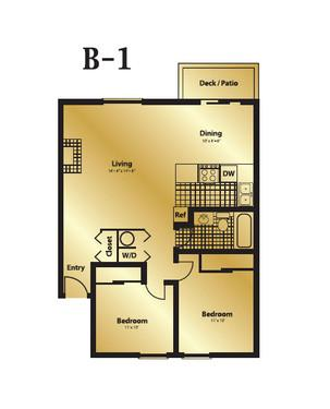 2x1 - $400 OFF 1st Months Rent if you move in b... Photo 1