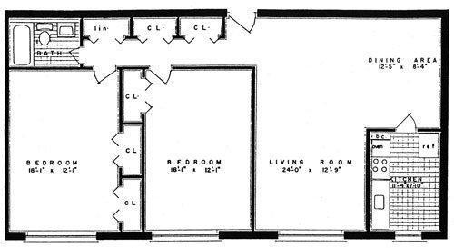 2 Bedroom 1 Bath Apartments 2001 columbia pike at 2001 columbia pike, arlington, va 22204