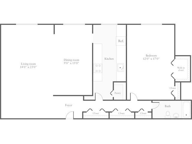 apartment floor plans for 2000 square feet